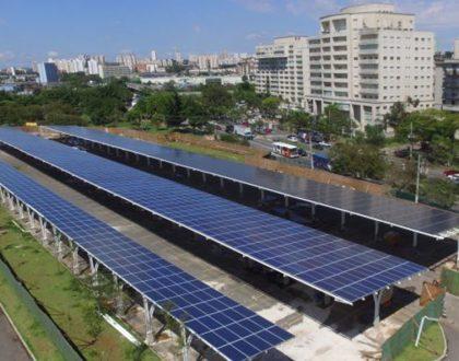 Parque Villa Lobos utiliza energia fotovoltaica para uso próprio e retorno na rede
